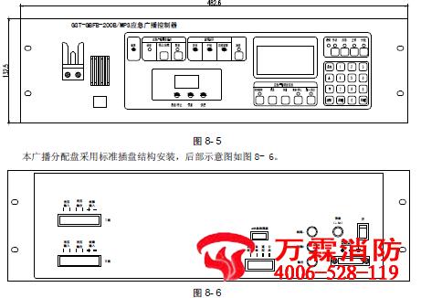 输出:接功率放大器音频输入