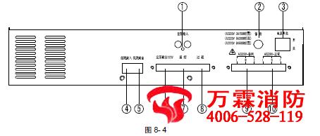 50W 型广播功率放大器接线 布线