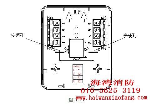 gst-ld-8318紧急启停按钮接线端子图